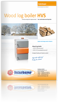 Brochure wood gasification boiler HVS E / LC