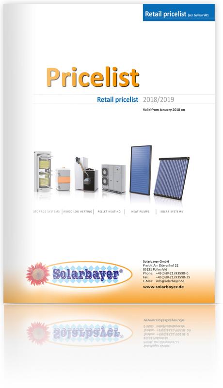 Berühmt Solarbayer GmbH - pricelist #XD_77